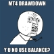 Maximum Relative Drawdown in MT4