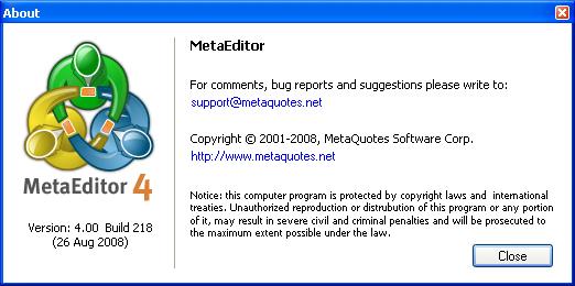 Metaeditor - фото 5