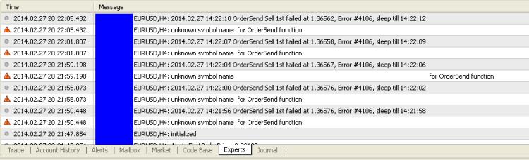 Error 4106
